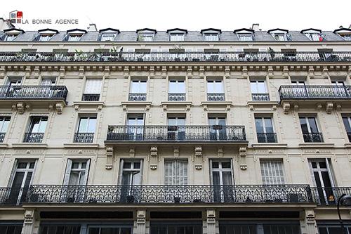 Recherche bureau - quartier Louis Blanc Paris Immeuble