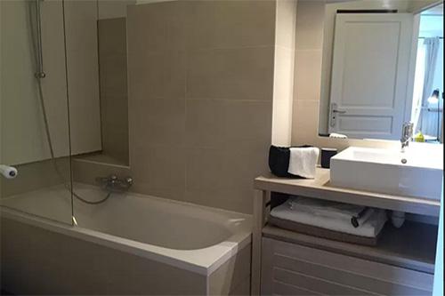 Paris 16e - appartement 2 pièces - salle de bain