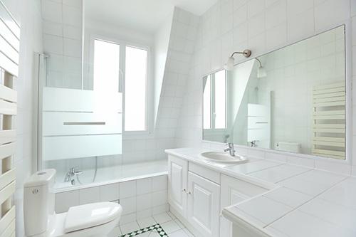 Paris 16e - hotel particulier salle de bain 3