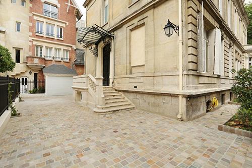 Paris 16e - hotel particulier cours