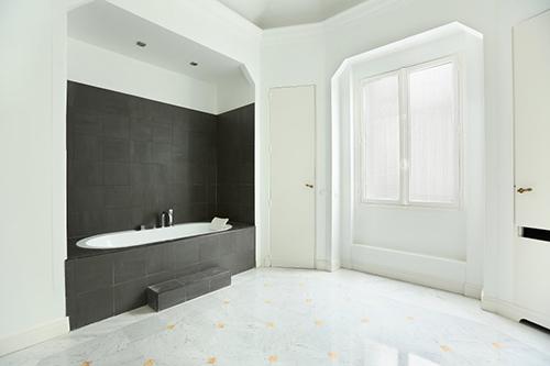 Paris 16e - hotel particulier salle de bain