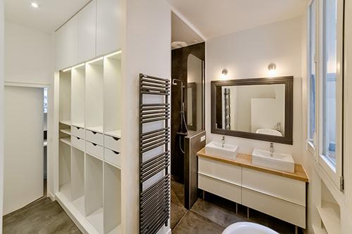 Paris 9e - Rochechouart- Salle de bain