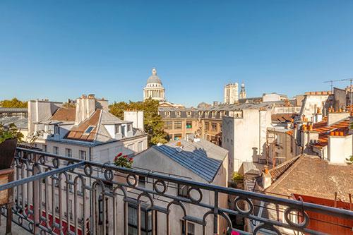 Pied à Terre Sorbonne 5e Paris Balcon