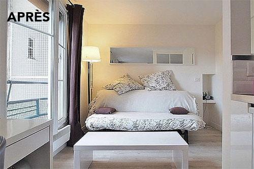 après renovation : chambre