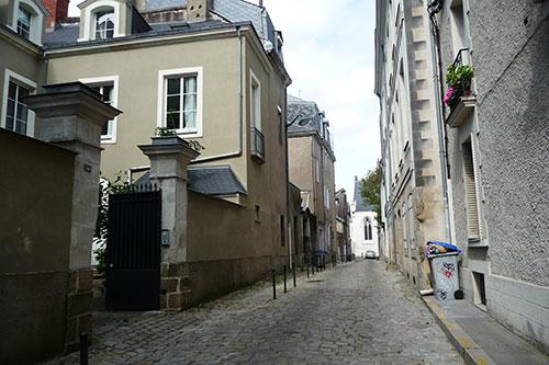 Nantes quartier chateau Extérieur