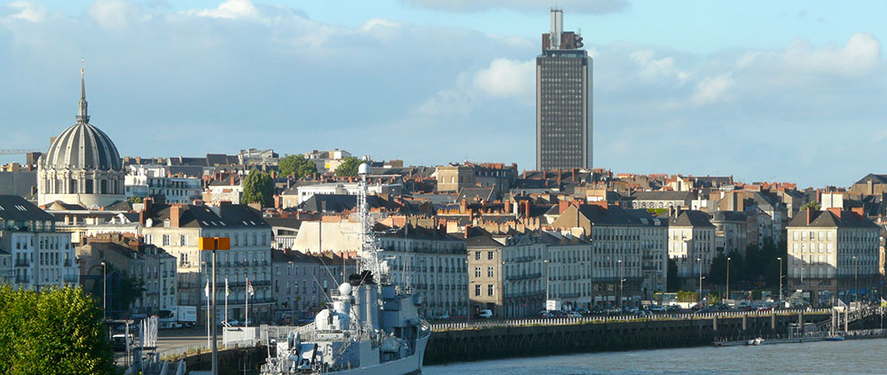 Lyon Panorama depuis la butte sainte anne