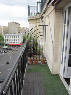 Appartement Vaugirard First IN First OUT chasseur d'appartement balcon