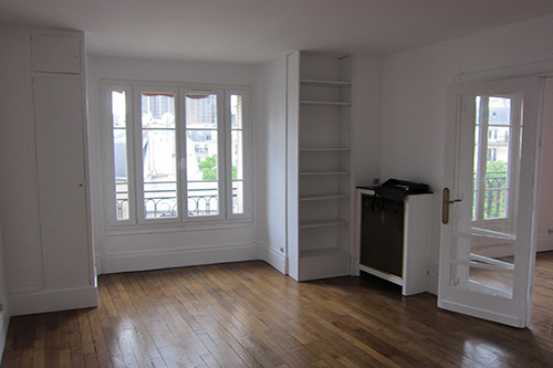 Appartement Vaugirard First IN First OUT chasseur d'appartement salon 2