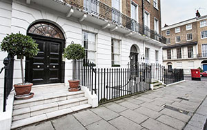 Londres rue immobilier