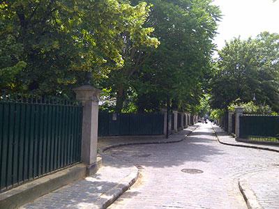 Paris 17 cité des fleurs