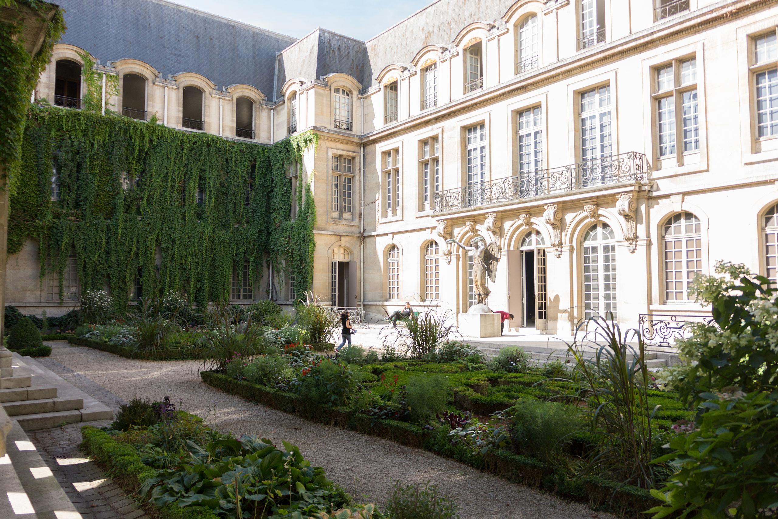 Jardin du musée Carnavalet