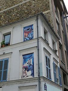 Rue Crémieux dans le 12e Paris