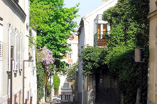 Passage barrault dans le 13e arrondissement