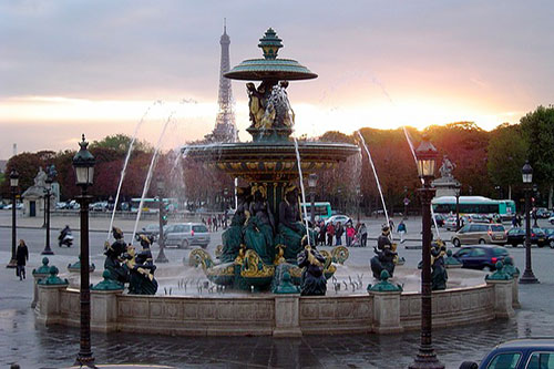 Place de la Concorde Paris 8