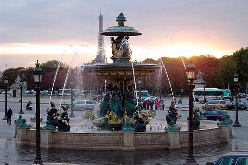 Place de la Concorde Paris 8