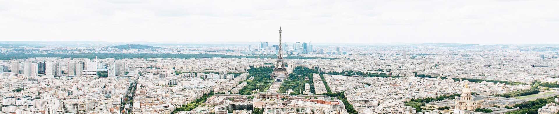 Panorama de la ville de Paris